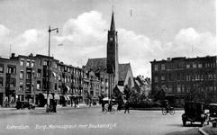PBK-1092 Burgemeester Meineszplein vanuit de van Cittersstraat, uit het zuidwesten gezien.