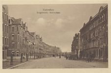 PBK-1095 Gezicht in de Burgemeester Meineszlaan vanaf het Burgemeester Meineszplein, in de richting van de ...
