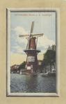 PBK-1417 Gezicht op de Coolsingel met korenmolen De Hoop, tot het jaar 1911 was de naam De Roomolen en in 1920 werd de ...