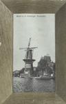 PBK-1418 Gezicht op de Coolsingel met korenmolen De Hoop, tot het jaar 1911 was de naam De Roomolen en in 1920 werd de ...