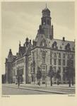 PBK-1574 Gezicht op de Coolsingel met het stadhuis, uit het zuidwesten. Rechts de Raadhuisstraat (Stadhuisstraat).