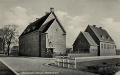 PBK-174 Het gebouw van de Rehobothschool voor christelijk voortgezet onderwijs aan de Katendrechtse Lagedijk nummer ...