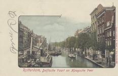 PBK-1833 De Delftsevaart, gezien uit het zuiden vanaf de Raambrug.