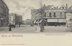 PBK-186 Benthuizerstraat met rechts het Pijnackerplein, uit het zuiden gezien.
