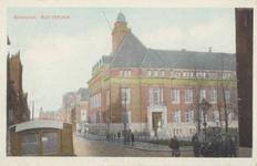 PBK-1870 Botersloot uit het zuidoosten gezien. Rechts de Gemeentebibliotheek aan de Nieuwemarkt.