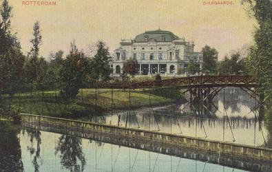 PBK-1901 Het sociëteitsgebouw van de Rotterdamsche Diergaarde.