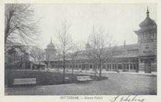 PBK-1922 De roofdierengalerij op het terrein van de Rotterdamsche Diergaarde.
