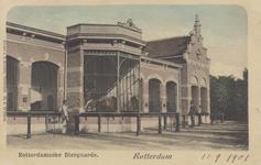 PBK-1927 De roofdierengalerij op het terrein van de Rotterdamsche Diergaarde.