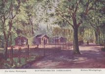 PBK-1932 Het kleine hertenperk in de Rotterdamsche Diergaarde.