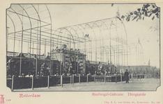 PBK-1937 Het roofvogelgebouw op het terrein van de Rotterdamsche Diergaarde