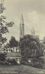 PBK-197 De torens van de Gereformeerde Bergsingelkerk aan de Bergsingel, uit het zuidwesten gezien.