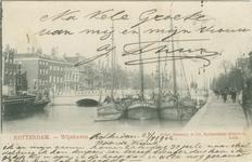 PBK-1983-1420 De Regentessebrug over de Wijnhaven, uit het westen gezien.
