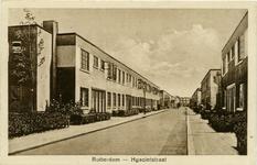 PBK-1983-151 Hyacintstraat met op de achtergrond de Lange Hilleweg.