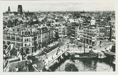 PBK-1983-1864 Overzicht van Plan C aan de Oudehavenkade een gedeelte van de Oudehaven, de Hoofdsteeg en de Mosseltrap ...