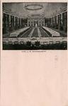 PBK-1983-348 De Grote Doelezaal met gedekte tafels, speciaal ingericht voor het bezoek van koningin Wilhelmina en ...
