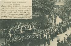PBK-1983-538 Bezoek van koningin Wilhelmina en prins Hendrik op 16 september 1901.Op de prentbriefkaart: het koninklijk ...