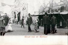 PBK-1983-691 Gebakkraam van A.L. Bonefaes op de kermis aan de Veemarkt.