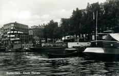 PBK-1983-993 Oudehaven met rechts de Spaansekade en de Mosseltrap.