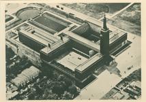 PBK-1984-56 Luchtopname van Museum Boymans Van aan de Mathenesserlaan.
