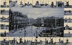 PBK-1985-198 Plan C aan de Oudehavenkade.Op de achtergrond de Hoofdsteeg en rechts de Oudehaven en de Mosseltrap.