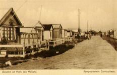 PBK-1986-294 Gemeentelijk kampeerterrein aan de Hoofdstraat hoek Ceintuurbaan in Hoek van Holland.