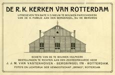 PBK-1986-7-1-TM-6 Serie prentbriefkaarten in een boekje met interieurs van 18 verschillende rooms-katholieke kerken, ...