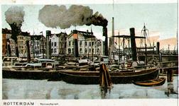 PBK-1987-1083 Gezicht op de Nassauhaven, uit het noorden, vanaf de Nassaukade.