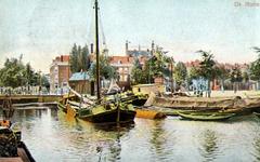 PBK-1987-1109 Gezicht op de Rotte, bij de Noorderbrug.