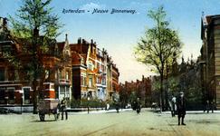 PBK-1987-1111 Gezicht op de Nieuwe Binnenweg, vanaf de hoek 's-Gravendijkwal.