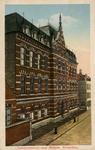 PBK-1987-113 De Industrieschool voor meisjes aan de Schietbaanstraat.