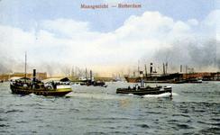 PBK-1987-242 Gezicht op de Nieuwe Maas.