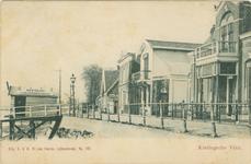PBK-1987-435 Het wachthuisje van rederij Maas en IJssel aan de Schaardijk. Op de achtergrond oliemolen 'De Liefde'.