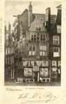 PBK-1987-443 Het historische huis In duizend Vreezen aan de Grotemarkt. Links het Hang.