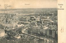 PBK-1987-737 Overzicht vanaf de Grote Kerk in de richting van de wijk Feijenoord.