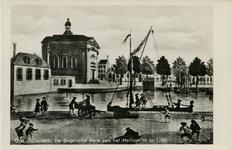PBK-1987-783 Haringvliet met de Engelse Episcopale Kerk.