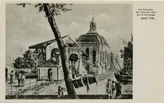 PBK-1987-784 De Lutherse Kerk aan de Wolfshoek en de Keizersbrug.