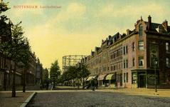 PBK-1989-11 Lusthofstraat, vanaf de Paulus Potterstraat gezien naar het westen (in de richting van de Weteringstraat). ...