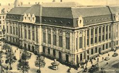 PBK-1989-257 Het postkantoor aan de Coolsingel gezien uit het zuidwesten. Rechts de Meent.