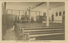 PBK-1989-5 Interieur van de kapel van de Paters Capucijnen op Katendrecht, gesticht in het jaar 1921 en in 1934 de ...