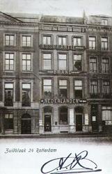 PBK-1989-592 Het kantoorpand van de verzekeringssmaatschappij tegen brandschade, ' De Nederlanden van 1845 ' aan de ...