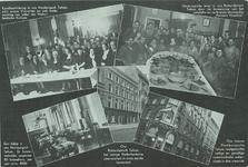 PBK-1993-1022 Prentbriefkaart van de Nederlandsche Zeemanscentrale met 5 afbeeldingen van het interieur en het ...