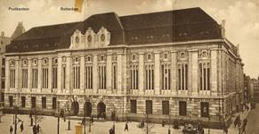 PBK-1993-1025 Het postkantoor aan de Coolsingel, rechts de Meent.