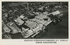 PBK-1993-1061 Albatros Superfosfaatfabrieken N.V. aan de IJsseldijk te Kralingseveer.