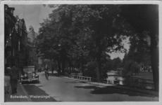 PBK-1993-1069 Westersingel vanaf de Nieuwe Binnenweg, uit het zuiden. Rechts de Mauritsweg.