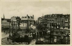 PBK-1993-1211 De Zaagmolenbrug over de Rotte met op de achtergrond de Zaagmolendrift.