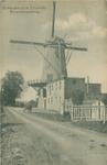 PBK-1993-132 Kromme Zandweg tussen Zuidhoek en Boergoensevliet met molen De Zandweg.