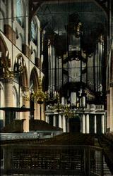 PBK-1993-1346 Gezicht op het orgel in de Grote kerk aan het Grotekerkplein.