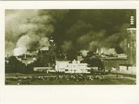 PBK-1993-1398 Gezicht op de door het Duitse bombardement van 14 mei 1940 getroffen omgeving van het Land van Hoboken. ...
