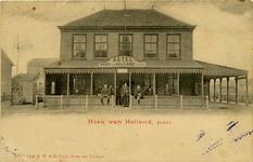 PBK-1993-14 Gezicht op hotel Hoek van Holland.