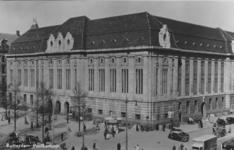 PBK-1993-1490 Het postkantoor aan de Coolsingel gezien uit het zuidwesten. Rechts de Meent.